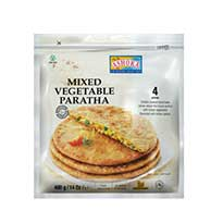 Mixed Vegetables Paratha (4 pcs)