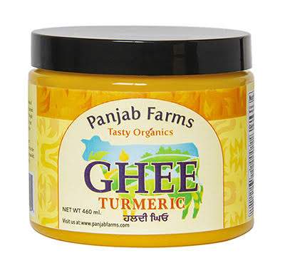 Panjab Farms Organic Turmeric Ghee